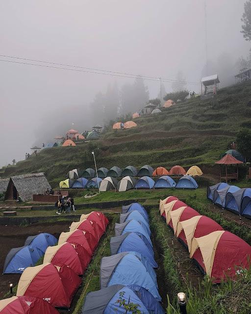 Camping di Bukit Tangkeban