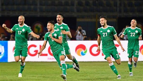 الجزائر تفوز على غينيا بثلاثة أهداف دون رد اليوم الاحد بتاريخ 07-07-2019 في كوبا أمريكا 2019