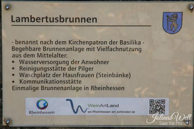 Lambertusbrunnen in Bechtheim, Wonnegau