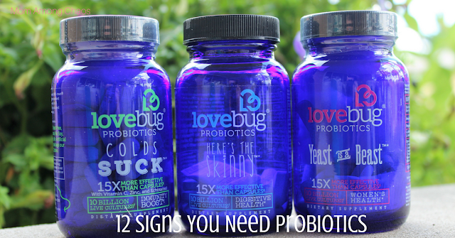 12 signs you need probiotics, health, gut health, review, lovebug