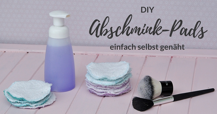 zero waste Abschminkpads selber nähen DIY