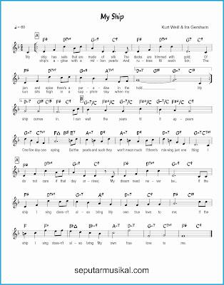 my ship lagu jazz standar