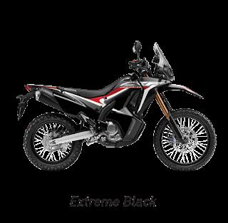 Warna, Fitur, dan Spesifikasi Honda CRF 250Rally