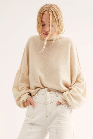 Free People So Low So High Cashmere Sweater
