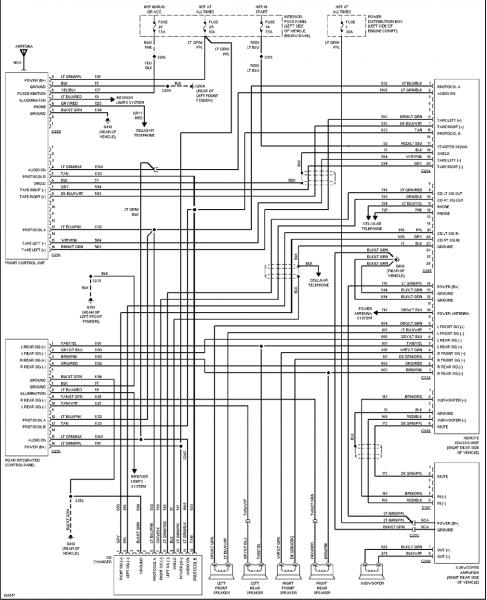 2000 Ford Explorer Radio Wiring Diagram