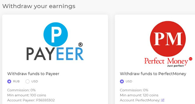 payeer and perfect money