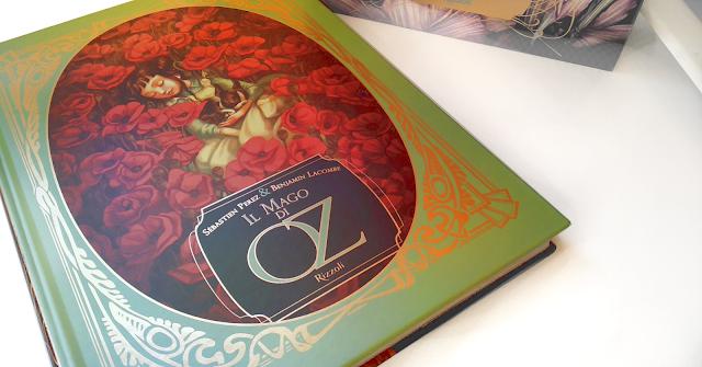 Il mago di Oz di  Sébastien Perez  e Benjamin Lacombe edizione illustrata