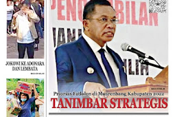 Tabloid Lelemuku #36 - Tanimbar Strategis - 12 April 2021