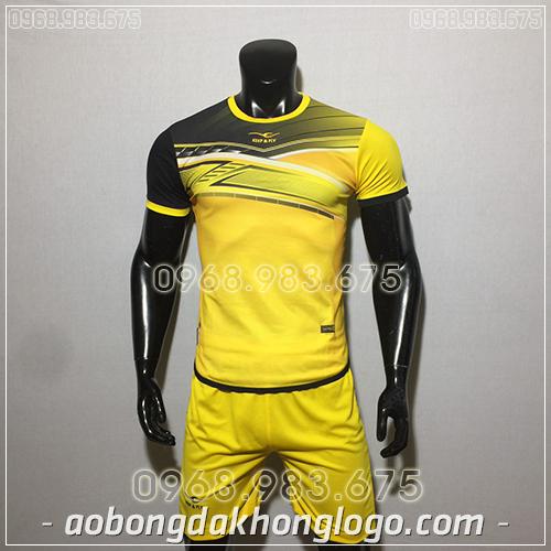 Áo bóng đá ko logo KeepFly PVĐ màu vàng