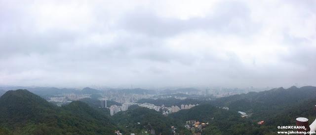遠眺大台北全景照