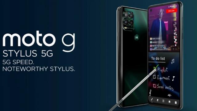 رسميًا سعر ومواصفات هاتف Moto G Stylus 5G