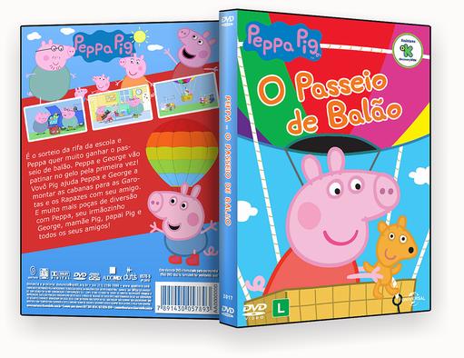 CAPA DVD – Peppa o Passeio De Balao DVD-R