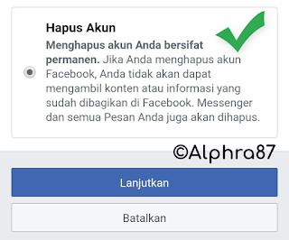 Cara Memblokir FB Sendiri Untuk Selamanya
