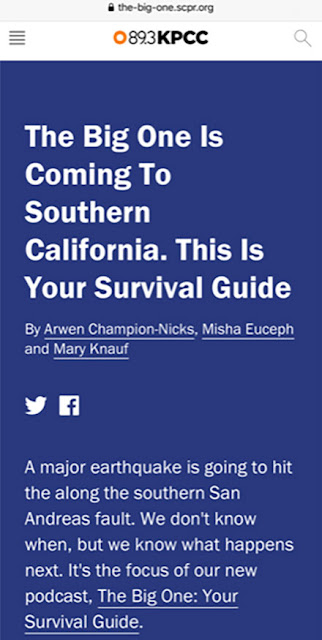 One big earthquake survival guide (Source: the-big-one.scpr.org)