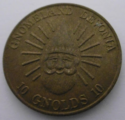 Token from Watermouth Family Theme Park and Castle in Devon