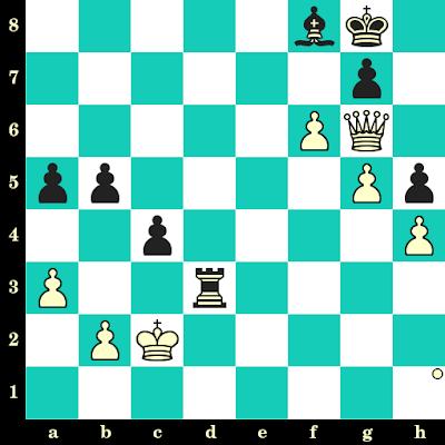 Les Blancs jouent et matent en 2 coups - Ana Srebrnic vs Laura Rogule, Belgrade, 2013