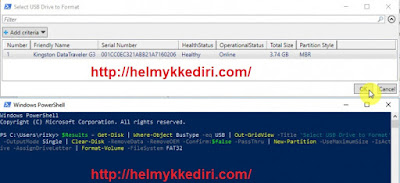 Cara membuat bootable windows lewat powershell