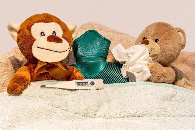 Aliviar malestar gripe, resfriado, aire, acondicionado, calefacción