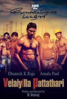 Velaiyilla Pattathari (VIP) 2014 Dual Audio Hindi 720p UNCUT HDRip ESubs Download