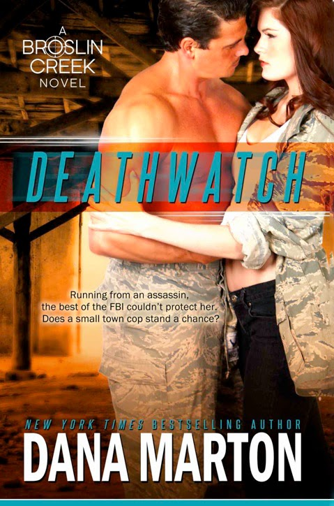 http://www.amazon.com/Deathwatch-Broslin-Creek-Romantic-Suspense-ebook/dp/B00ELW1V1A/ref=sr_1_1?s=digital-text&ie=UTF8&qid=1415377808&sr=1-1&keywords=deathwatch+dana+marton