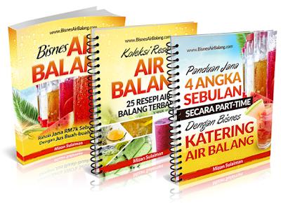 Free Gift Ebook Bisnes Air Balang