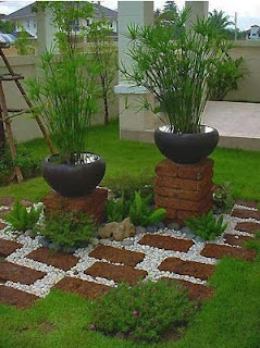 How to Organize Home Garden On Land Narrow