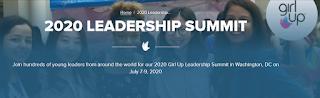 UN Foundation 2020 Girl Up Leadership Summit Programme