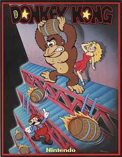 Publicidad de la recreativa Donkey Kong, 1981