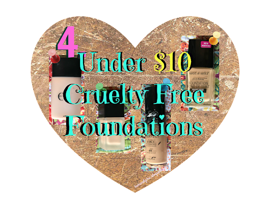 4 Under $10 Cruelty Free Foundations!