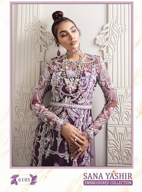 Shree Fab Sana Yashir Georgette Pakistani Suits Collection