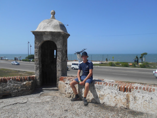 City walls of Cartagena