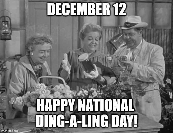 National Ding-A-Ling Day Wishes Awesome Picture