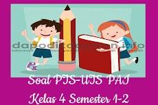 Soal PTS UTS PAI Kelas 4 Semester 1 SD MI Tahun 2019-2020