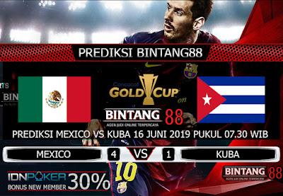 PREDIKSI MEXICO VS KUBA 16 JUNI 2019