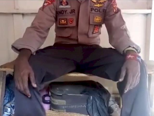 Video Polisi Nyatakan Gabung OPM, Polda Papua Bilang Seragam itu Dipinjam