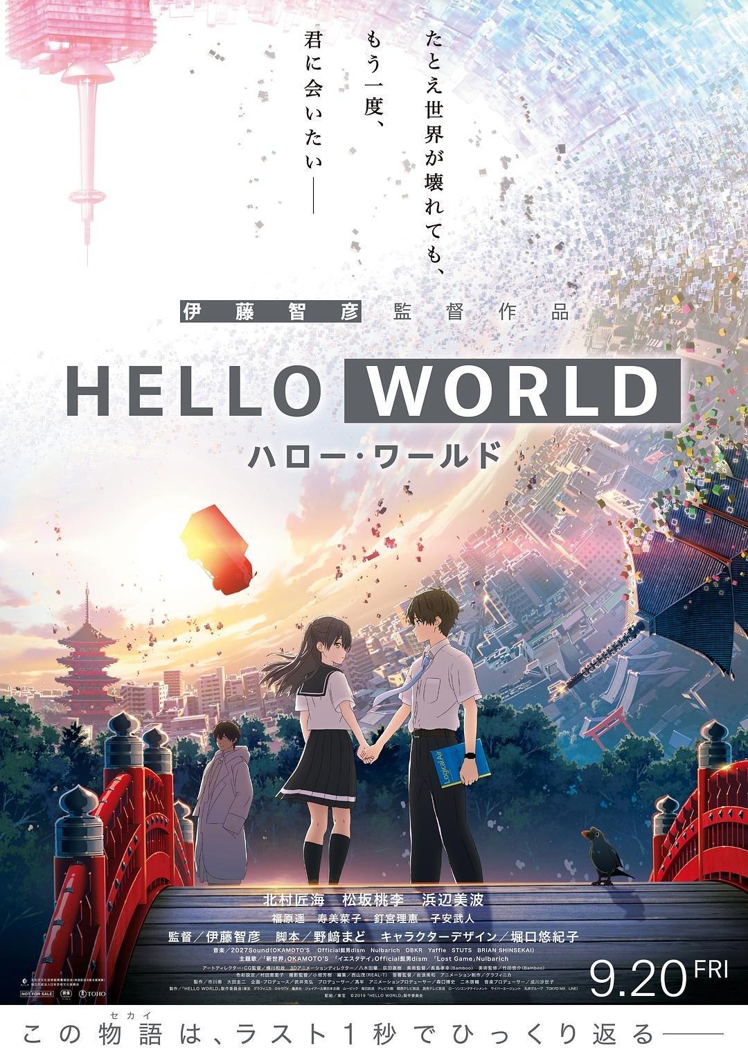 Hello World 2019 1080p Bluray