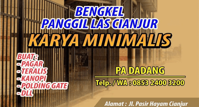 Jasa Bengkel Las Listrik Area Cianjur