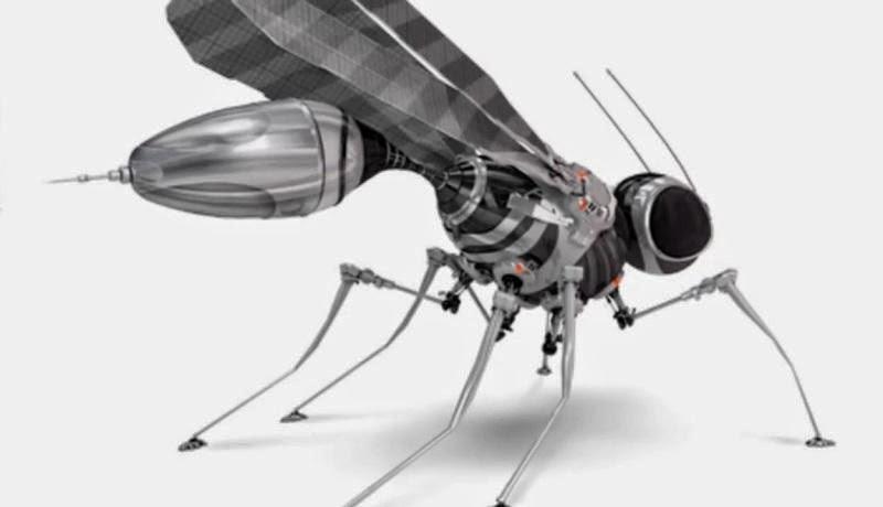 Un Drone Moustique Espion