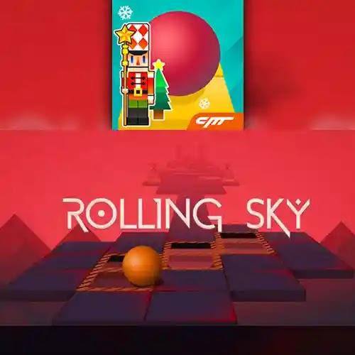 Rolling Sky هي واحدة من أحدث ألعاب Android التي جذبت العديد من المعجبين من خلال اللعب المثير وقصتها هي أنه عليك تحريك الكرات في اتجاهات مختلفة وتوجيهها إلى الامام كن دائمًا في حالة توازن وإلا فقد تصدم بإحد عقبات وحواجز ثلاثية