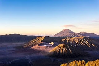 mount bromo at east java