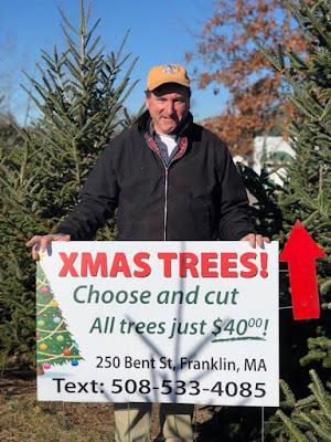 Lyon Landscape and Nursery - Christmas Tree go on sale Nov 27