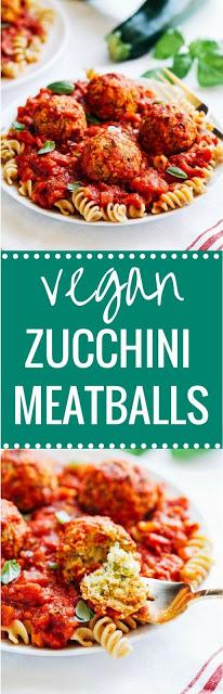 Vegan Zucchini 'Meatballs'