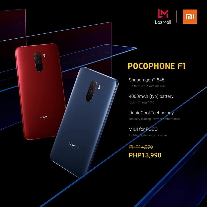 Sale Alert: POCO F1 6GB/64GB is down to PHP 13,990!