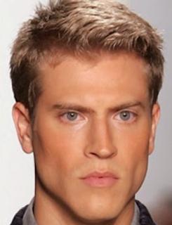 Potongan Rambut Lelaki Dengan Bentuk Wajah Persegi