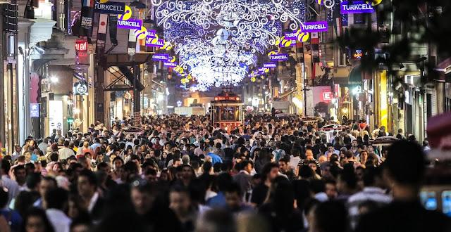 Distrito de Beyoglu em Istambul
