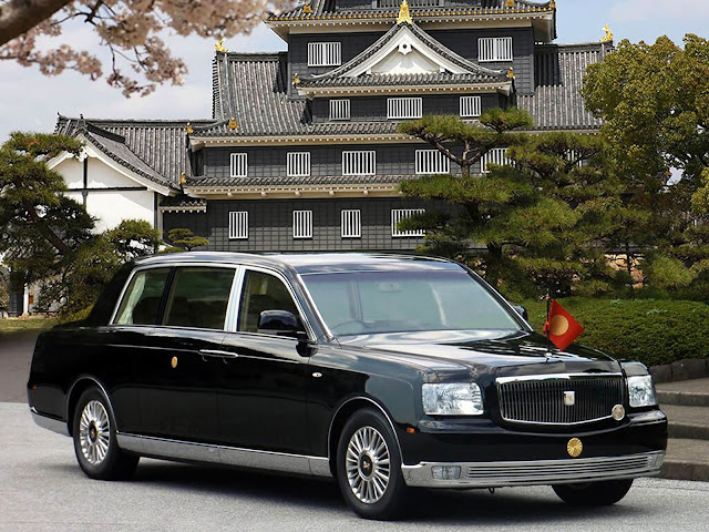 Three generations of the Toyota Century the Japanese Bentley