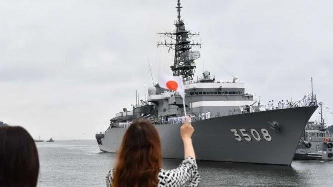 Jepang Bersumpah Tak Mau Perang, Laut China Selatan Memanas