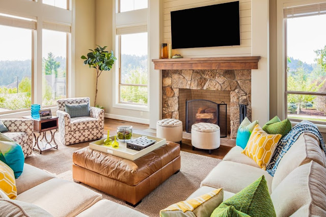 Living Room Storage Tricks from Top Interior Design Pros images