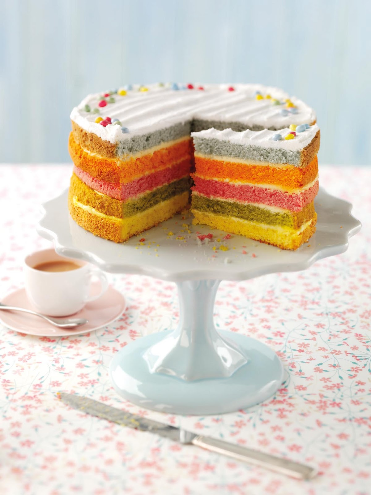 Grocery Gems New Celebration Cakes At Asda Including A Rainbow Cake