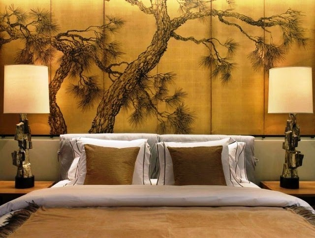 japanese bedroom wall painting ideas